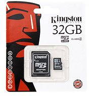 Kingston Micro SDHC 32GB Class 4 + SD adaptér - Pamäťová karta