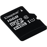 Kingston Micro SDHC 16 GB Class 10 UHS-I - Pamäťová karta