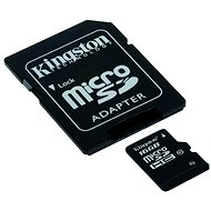 Kingston Micro SDHC 16 GB Class 10 UHS-I + SD adaptér - Pamäťová karta