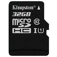 Kingston Micro SDHC 32GB Class 10 UHS-I - Pamäťová karta