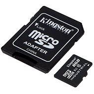 Kingston Micro SDHC 8 GB Class 10 UHS-I Industrial Temp + SD adaptér - Pamäťová karta