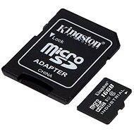 Kingston Micro SDHC 16 GB Class 10 UHS-I Industrial Temp + SD adaptér - Pamäťová karta
