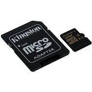 Kingston Micro SDHC 16GB UHS-I U3 + SD adaptér - Pamäťová karta
