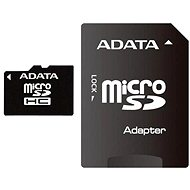 ADATA Micro SDHC 4GB Class 4 + SD adaptér - Pamäťová karta