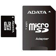 ADATA Micro SDHC 16 GB Class 4 + SD adaptér - Pamäťová karta