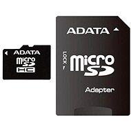 ADATA Micro SDHC 32GB Class 4 + SD adaptér - Pamäťová karta