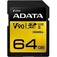 ADATA Premier ONE SDXC 64GB UHS-II U3 Class 10 - Pamäťová karta