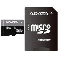 ADATA Premier Micro SDHC 16GB UHS-I + SDHC adaptér - Pamäťová karta