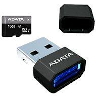 ADATA Premier Micro SDHC 16GB UHS-I + Micro Reader - Pamäťová karta