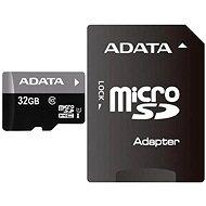 ADATA Premier Micro SDHC 32GB UHS-I + SDHC adaptér - Pamäťová karta