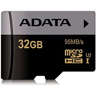 ADATA Premier Micro SDHC 32GB UHS-I U3 Class 10 - Pamäťová karta