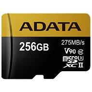 ADATA Premier ONE MicroSDXC 256GB USH-II U3 Class 10 - Pamäťová karta