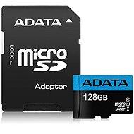ADATA Premier Micro SDXC 128GB UHS-I Class 10 + SD adaptér - Pamäťová karta