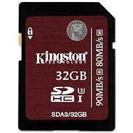 Kingston SDHC 32GB Class 10 UHS-I U3 - Pamäťová karta