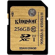 Kingston SDXC 256GB UHS-I Class 10 Ultimate - Pamäťová karta