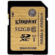 Kingston SDXC 512GB UHS-I Class 10 - Pamäťová karta