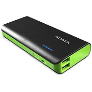 ADATA PT100 Power Bank 10000mAh čierno-zelená - Power Bank