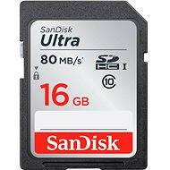SanDisk SDHC 16 GB Ultra Class 10 UHS-I - Pamäťová karta