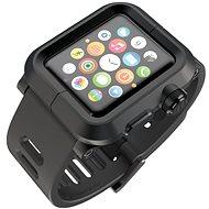 Lunatik Epik pre Apple Watch 1 Series 42mm (čierne aluminium / čierny silikón) - Puzdro