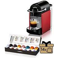 NESPRESSO DéLonghi Pixie EN125.R, červené - Kávovar na kapsuly