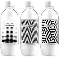 SodaStream Fľaša TriPack 1 l Black & White - Náhradná fľaša
