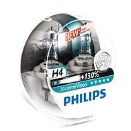 PHILIPS H4 X-tremeVision, 60/55 W, základňa P43t-38, 2 ks - Autožiarovka