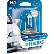 PHILIPS H4 WhiteVision60/55W, pätice P43t-38, - Autožiarovka
