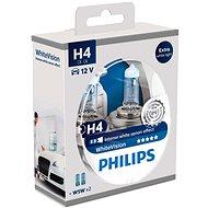PHILIPS H4 WhiteVision 60/55 W, základňa P43t-38, 2 ks + zadarmo 2x W5W - Autožiarovka