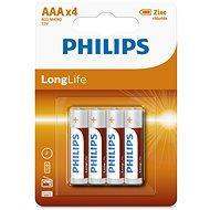 Philips R03L4B 4 ks v balení - Batéria