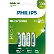 Philips R03B4RTU10 4 ks v balení - Batéria