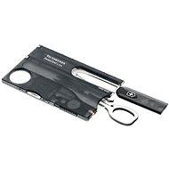 VICTORINOX Swiss Card Lite Translucent čierny - Vreckový nôž