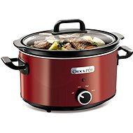 CrockPot SCV400RD červený + kuchárka - Pomalý hrniec