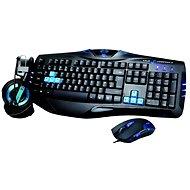 E-Blue Cobra Combatant-X Blue - Súprava klávesnice a myši