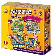 Moja rodina 3v1 - Puzzle