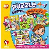 Môj deň 4v1 - Puzzle