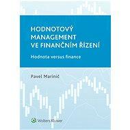 Hodnotový management ve finančním řízení - Pavel Marinič