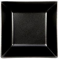 ELITE Tanier hlboký štvorcový 17,5 x 17,5cm čierny, súprava 6 ks - Tanier