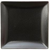 ELITE Tanier dezertný štvorcový 18x18cm čierný, sada 6ks - Tanier