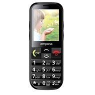 Emporia ECO čierny - Mobilný telefón