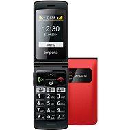 Emporia FLIP basic červený - Mobilný telefón