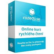Rozečti.se - online výučba rýchleho čítania - Elektronická licencia
