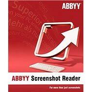 ABBYY Screenshot Reader - Elektronická licencia