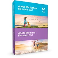 Adobe Photoshop Elements + Premiere Elements 2018 MP ENG (elektronická licence) - Elektronická licence