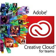 Adobe Creative Cloud for Teams MP ENG Commercial (1 mesiac) - Elektronická licencia