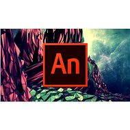 Adobe Animate Creative Cloud (Flash Pro) MP ML (vr. CZ) Commercial (1 mesiac) (elektronická licencia) - Elektronická licencia