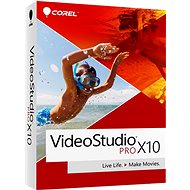 Corel VideoStudio Pro X10 License WIN (elektronická licence) - Elektronická licence