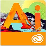Adobe Illustrator Creative Cloud MP ENG Commercial (1 mesiac) - Elektronická licencia