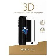 Epico Glass 3D+ na iPhone 6 a iPhone 6S biele - Ochranné sklo