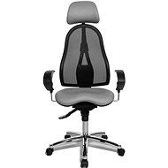 TOPSTAR Sitness 45 sivá - Kancelárska stolička