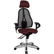 TOPSTAR Sitness 45 bordó - Kancelárska stolička